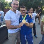 Davor Štefanek sa svojim fizioterapeutom Ćurčić Markom