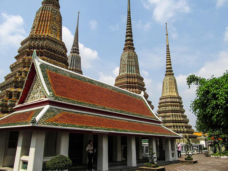 Medicinski paviljon u What Pho hramu