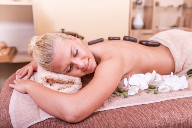 Fizio Spa -masaža vulkanskim kamenjem